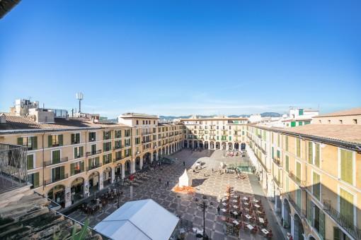 Exclusivo ático en Plaza Mayor, una oportunidad de vivir en el corazón de Palma