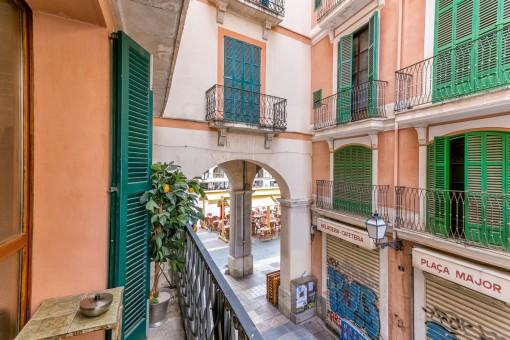Uno de los 5 balcones
