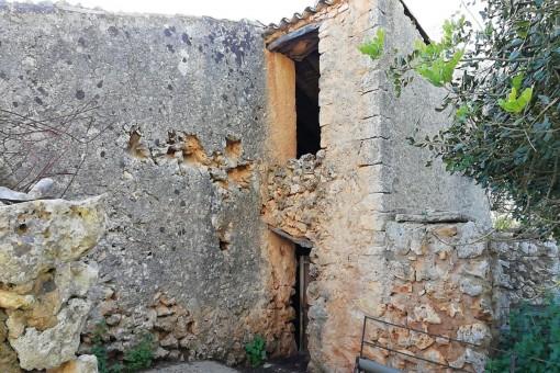 Vista lateral del edificio antiguo