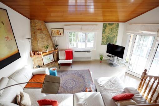 Segunda sala de estar en la planta baja