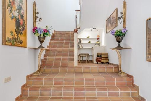 Escaleras de la propiedad