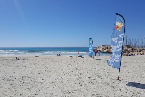La famosa playa de Es Trenc se puede llegar en 5 minutes