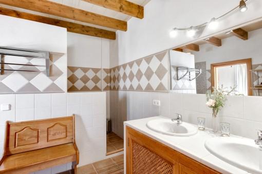 La propriedad ofrece 5 baños