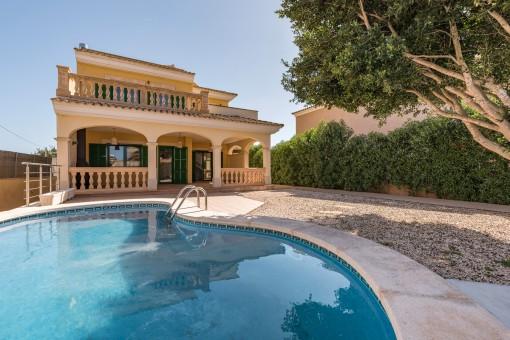 Villa fantástica con piscina en Sa Rapita