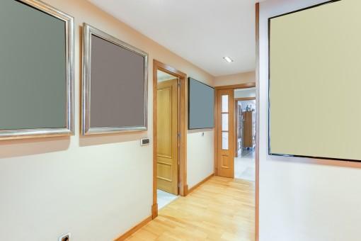 El pisoe tiene una superficie habitable de 230 metros cuadrados