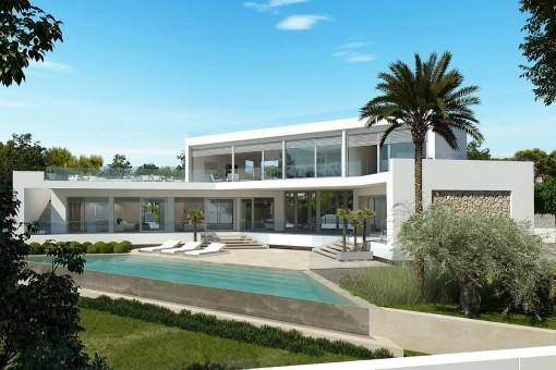 Villa en Calvia