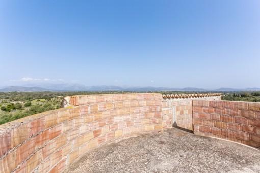 Mirador con vistas a las montañas