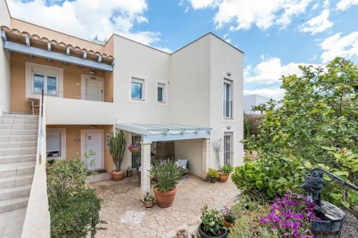 La propiedad se sitúa en un hermoso compejo residential