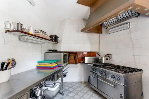 Vista alternativa de la cocina