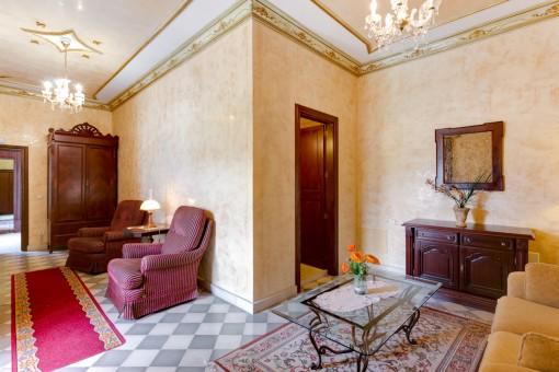 Cada habitación está decorada individual