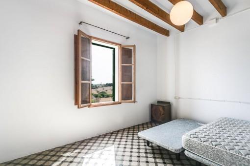 Segundo dormitorio de la finca