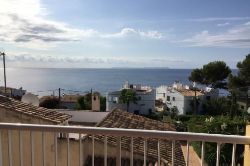 Piso con encanto y magníficas vistas al mar en Cala Pi