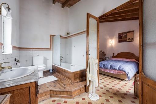 Espacioso baño en suite