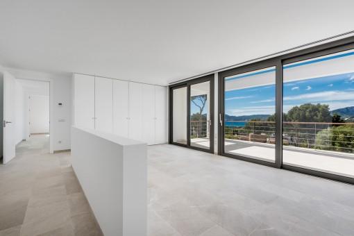 La exclusiva villa ofrece en total 4 dormitorios