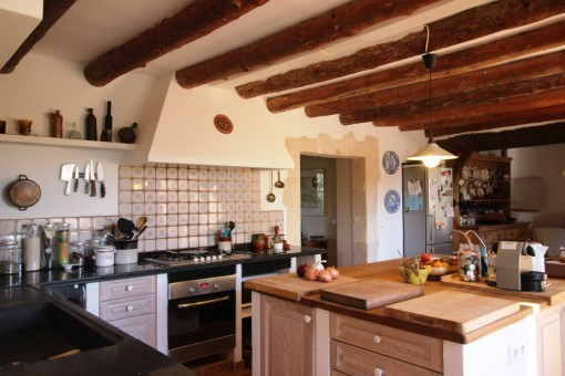 Alternative view kitchen in Main House