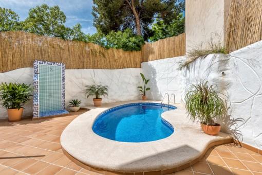Chalet de nuevo diseño con piscina privada en Camp de Mar