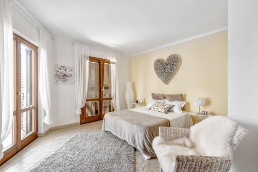 El segundo dormitorio confortable