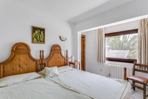 Dormitorio confortable con 2 camas individuales
