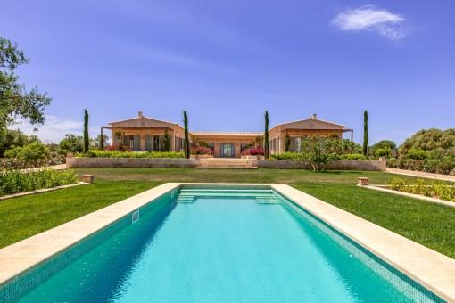 Preciosa propiedad con vistas de ensueño en Santanyí