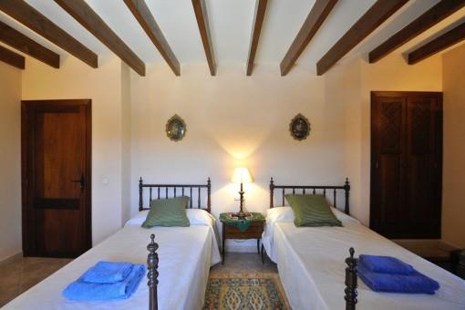 Dormitorio con n camas individuales