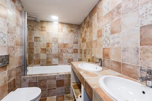 Uno de 3 baños de alta calidad