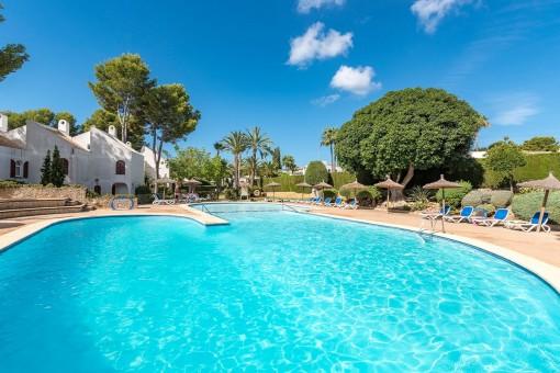 Adosado con encanto muy cerca de la playa en Sol de Mallorca