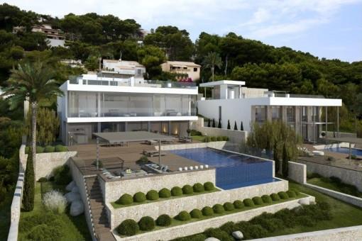 Villa en Font de sa Cala