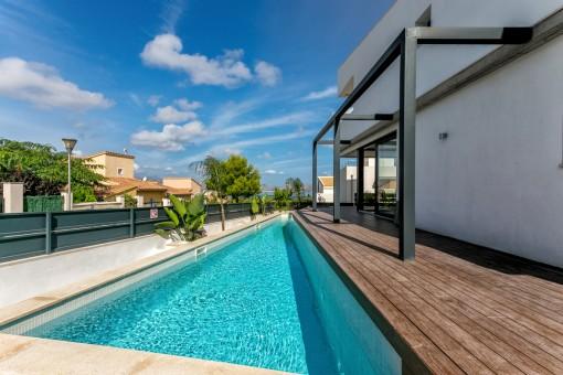 Villa con arquitectura contemporánea en una zona muy solictiada de Bonaire con vistas al mar