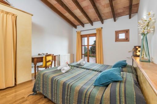 Los dormitorios tienen un acceso al balcón
