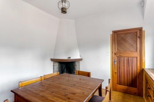 Otro cuarto con chimenea