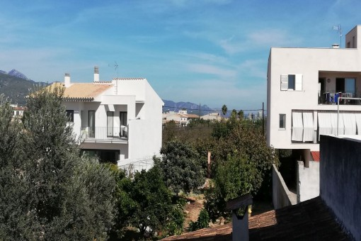 Céntrico solar en zona tranquila de Binissalem con la posibilidad de construir 5 apartamentos