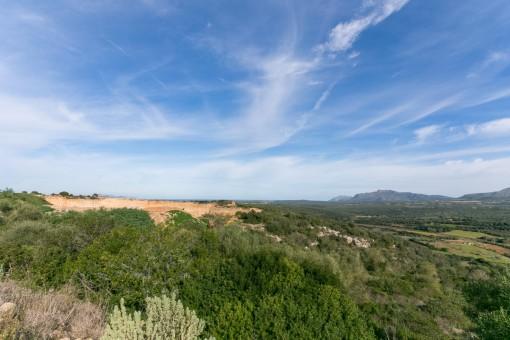 Magníficas vistas al paisaje