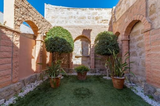 Jardín idílico