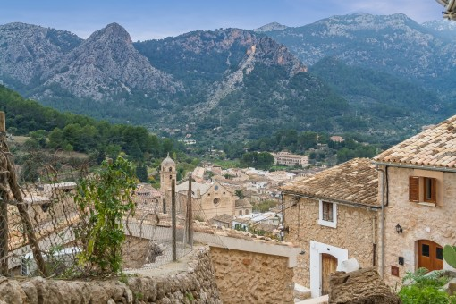 Maravillosas vistas a la montaña
