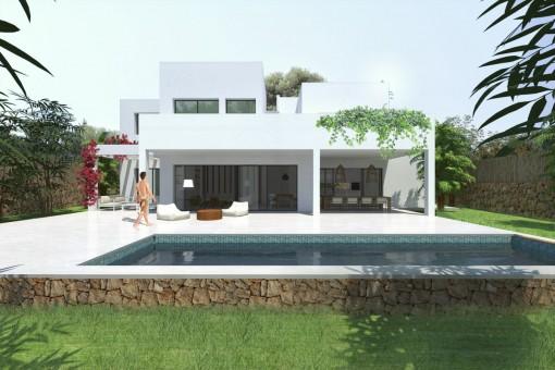 Villa en Cala Mondrago