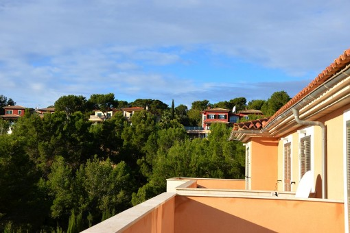 Magníficas vistas desde la terraza