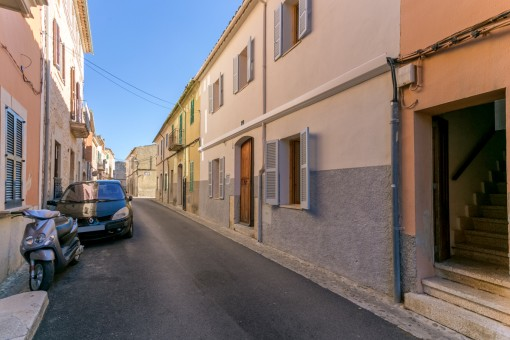 Vista de la calle