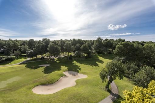 Vistas al campo de golf