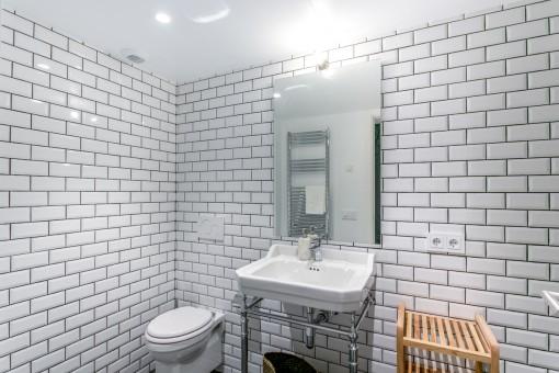 Magnífico baño con ducha