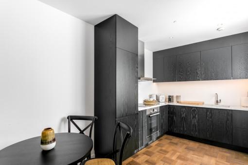 Preciosa cocina moderna