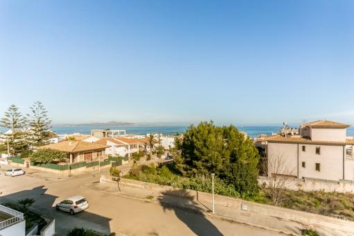 Casa en buenas condiciones en Son Serra de Marina cerca del mar con vistas al mar