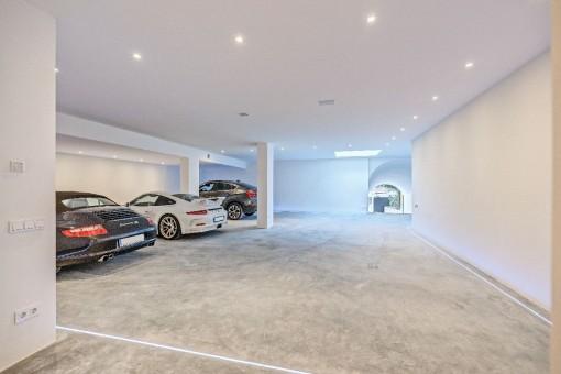 Espacioso garaje