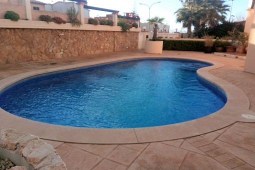 Área de piscina comunitaria