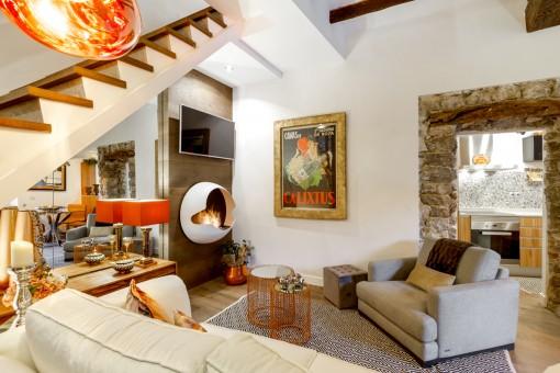 Preciosa casa en Valldemossa completamente amueblada por interiorista de prestigio internacional