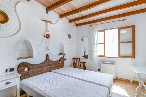 Amplio dormitorio doble