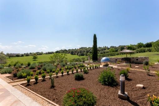 Jardín espectacular