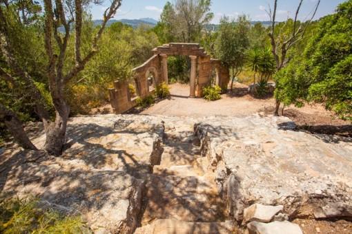 El Anfiteatro del jardín