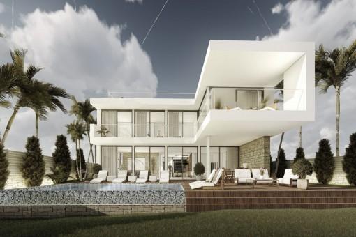Villa en Cala Vinyas