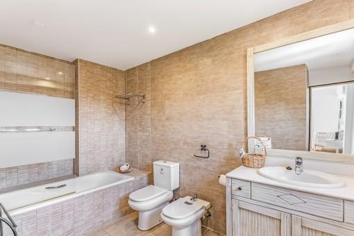 Uno de 8 baños