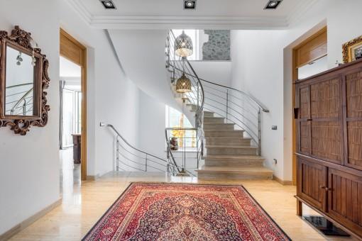 Escaleras impresionantes